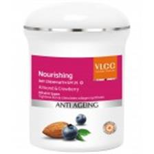 Vlcc Anti Aging Day Cream -Almond & Crowberry 50 GM