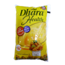 Dhara Refined Sunflower Oil - Health , 1 Lt Pack