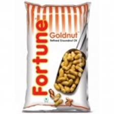 Fortune Groundnut Oil - Goldnut Refined , 1Lt Pouch