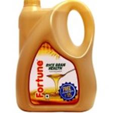 Fortune Oil - Rice Bran Health , 5 Lt Can