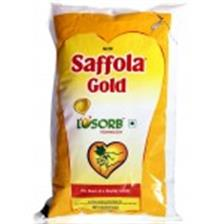 Saffola Gold Oil , 1 Lt Pouch