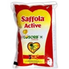 Saffola Oil - Active , 1 Lt Pouch