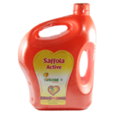 Saffola Oil - Active , 5 Ltr Can