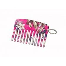 Feather Feel Printed Mini Comb ,1PC
