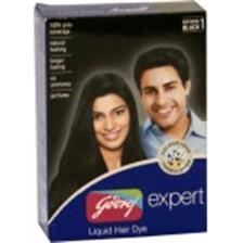 Godrej Expert Hair Dye - Liquid Natural Black 1