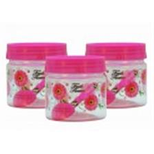 SKI Easy Pet Jar Pink 250 ML - Set Of 3