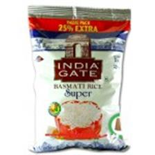 India Gate Basmati Rice - Super (25 % Extra)